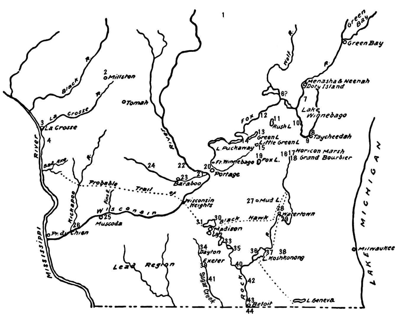 Kinzie S Receipt Roll 1829
